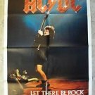 AC/DC Let There Be Rock BON SCOTT 1-Sheet Movie POSTER Angus Young ORIGINAL 1982