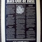 NIGHTWING Cinerama Dome Movie POSTER Bats Out of Hell VAMPIRE BAT Horror Film