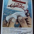 UP IN SMOKE Cheech & Chong 1-SHEET Movie POSTER Marin and Tommy PARAMOUNT Orignl