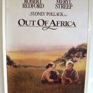 OUT OF AFRICA Original ROLLED Movie POSTER Meryl Streep ROBERT REDFORD Pollack