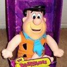 FRED FLINTSTONE Mattel FLINTSTONES Plush Figure DOLL Hanna Barbera 1993  MIB