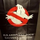 GHOSTBUSTERS Original 1984 HUGE French GHOST BUSTERS Poster FRANCE Bill Murray