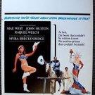 MYRA BRECKINRIDGE Original WINDOW CARD Poster RAQUEL WELCH Rex Reed MAE WEST '70