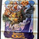 RETURN TO OZ 1-Sheet Movie POSTER Fairuza Balk DREW STRUZAN Wizard of  Original
