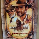INDIANA JONES and the Last Crusade Original POSTER Harrison Ford SEAN CONNERY