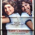 LITTLE DARLINGS Original 1-Sheet MOVIE POSTER Kristy McNichol TATUM O'NEAL 1980