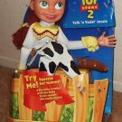 TOY STORY Mattel JESSIE Talk n Yodel DOLL Talking Action FIGURE DISNEY Pixar MIB