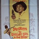 DON KNOTTS The SHAKIEST GUN IN THE WEST Original 1-Sheet Movie POSTER Western 68