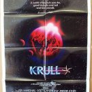 KRULL Original 1-Sheet Movie POSTER Teaser ADVANCE Coming in Summer KEN MARSHALL
