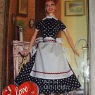 I LOVE LUCY Mattel BARBIE Doll LUCILLE BALL Figure SALES RESISTANCE #45  Vacuum