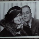 THELMA TODD Original LYNNE OVERMAN Cardstock TWO FOR TONIGHT Movie PHOTO 1935  2