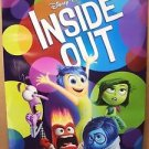 INSIDE OUT Rolled MOVIE Poster PIXAR Disney JOY Sadness FEAR Disgust ORIGINAL 15