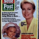 GRACE KELLY Original GERMAN Meu Post Fur Frau  MAGAZINE PRINCESS GRACE of MONACO