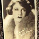 VIOLA DANA Photo MAX FACTOR Studios HOLLYWOOD 1920's Facsimile Autograph Orignal