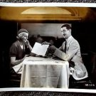 CHARLEY CHASE Original HAL ROACH Studio Photo YOUNG IRONSIDES Muriel Evans TRAIN