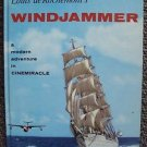 WINDJAMMER Cinemiracle Photo PICTURE BOOK Shirtless Sailor Boys 1958 Ticket Stub