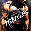 HERCULES Original DWAYNE JOHNSON The ROCK Rolled MOVIE Poster SWORD & SANDALS