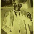ANTHONY QUINN Original 1960's Studio PHOTO Negative Headshot Autograph Facsimile