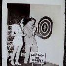 MARY MARTIN Fred Allen Key ON SET Original PHOTO Love Thy Neighbor JACK BENNY 40