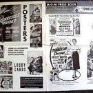 TENNESSEE CHAMP Boxing PRESSBOOK Shelley Winters DEWEY MARTIN Keenan Wynn MGM 54