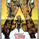 A SMALL TOWN IN TEXAS Promo POSTER Bo Hopkins SUSAN GEORGE Timothy Bottoms 1976