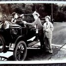 CHARLEY CHASE Original HAL ROACH Studio Photo FALLEN ARCHES Muriel Evans MODEL-T