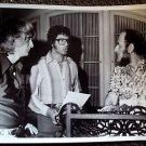 ENGELBERT HUMPERDINCK Original PHOTO  Phil Spector  STAMPED ON BACK Paparazzi