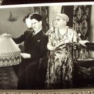 CHARLEY CHASE Original HAL ROACH Studios Photo BALMY DAYS holding LAMPSHADE 30's