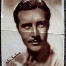 JOHN BOLES Original 1932 Photo FLYER Piller an Rex Theatres NORTH DAKATO ND