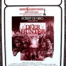 DEER HUNTER Original COLLEGE Campus mini- POSTER Robert De Niro MERYL STREEP '78