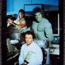 INCREDIBLE HULK Out take PHOTO Lou Ferrigno BILL BIXBY Eric Allan Kramer THOR 88