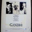 GANDHI Original BEN KINGSLEY Oscar ACADEMY AWARD Daily Variety ARTWORK Lay-out