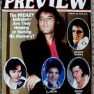 ELVIS PRESLEY Magazine JOHN RITTER Jane Fonda JON VOIGHT Billy Crystal Steisand