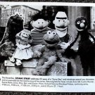 SESAME STREET Original PBS Photo GROVER Bert ELMO ERNIE COOKIE MONSTER Muppets