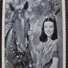 LORETTA YOUNG Original 1936 Photo RAMONA Trade-Ad 80 YEARS OLD  Kinematograph