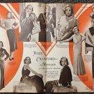 JOAN CRAWFORD Fashion Layout HELEN HAYES Picturegoer CALENDAR for 1933 MAGAZINE