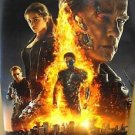 TERMINATOR Cyborg ARNOLD SCHWARZENEGGER Movie POSTER Emilia Clarke Genisys FIRE