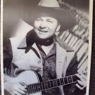 TEX RITTER Photo COWBOY Portrait Western 11x14 Country Music HALL OF FAME Legend