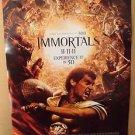 IMMORTALS Original HENRY CAVILL Movie POSTER Stephen Dorff GLADIATOR Greek 2011