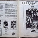 LIGHT AT THE EDGE OF WORLD Pressbook KIRK DOUGLAS Samantha Eggar YUL BRYNNER '71