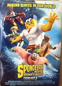 SPONGE BOB SpongeBob Movie Sponge Out of WaterRolled MOVIE Poster SQUARE PANTS