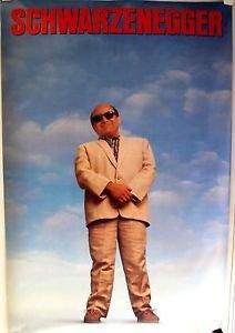TWINS Original DANNY DeVITO Rolled 1-Sheet ORIGINAL Poster ARNOLD SCHWARZENEGGER