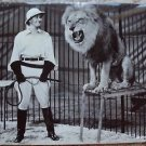 JOHN HUBBARD Lion Tamer ROADSHOW Circus  ORIGINAL Hal Roach PHOTO Circus 1941
