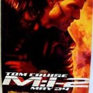 TOM CRUISE Original MISSION IMPOSSIBLE 2 Double Sided MOVIE POSTER Rolled II MI-