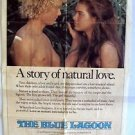 BROOKE SHIELDS Original BLUE LAGOON 1-sheet MOVIE Poster CHRISTOPHER ATKINS 1980
