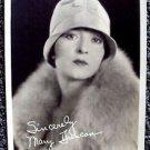 MARY DUNCAN Photo MAX FACTOR Studios HOLLYWOOD 1920's Facsimile Autograph Orig