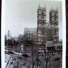WESTMINSTER ABBEY Original PHOTO London 1967 England HALL OF KINGS Church UK