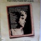 STARDUST Original DRIVE-IN Movie Poster DAVID ESSEX Larry Hagman ADAM FAITH 1974
