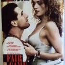 CINDY CRAWFORD Original FAIR GAME Double Sided Movie POSTER William Baldwin 1995