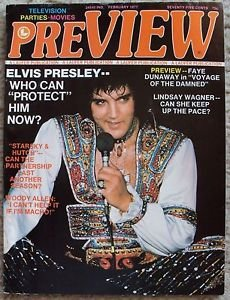 ELVIS PRESLEY Magazine LINDSAY WAGNER David Carradine RICHARD HATCH Woody Allen